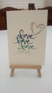 Stampin Up Watercolour Words