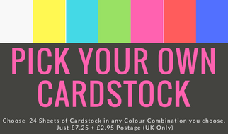 Pick your Own Cardstock