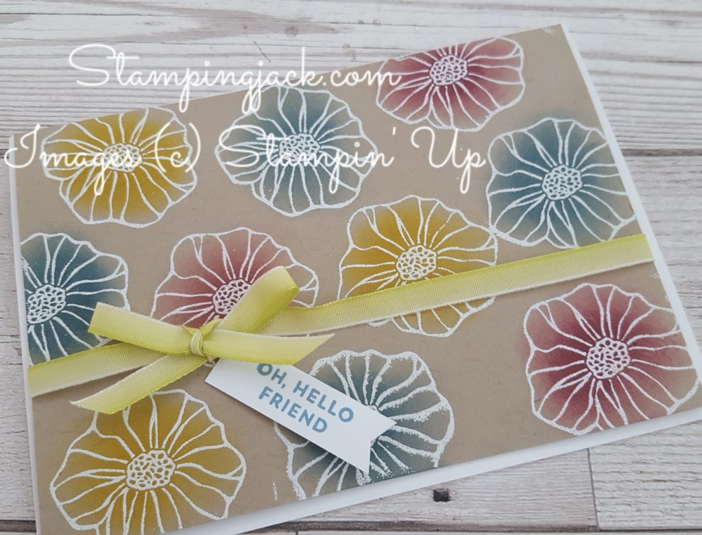 Stampin up Oh so Eclectic