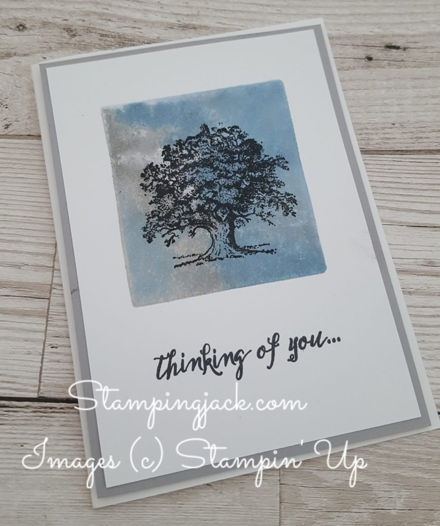 Stamping with Acrylic Blocks