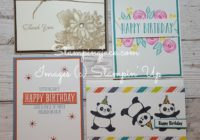 Stampingjack Stampin Up Demonstrator Facebook Live Video Tutorial