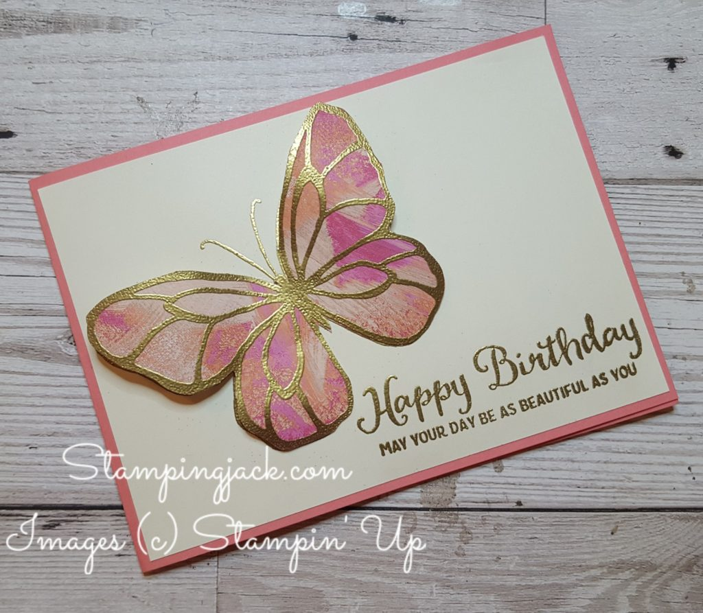 Stampin Up Beautiful Day Butterfly