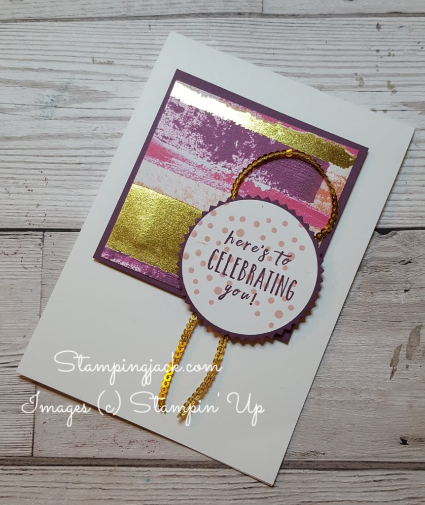 Stampin Up Perennial Birthday & Painted with Love
