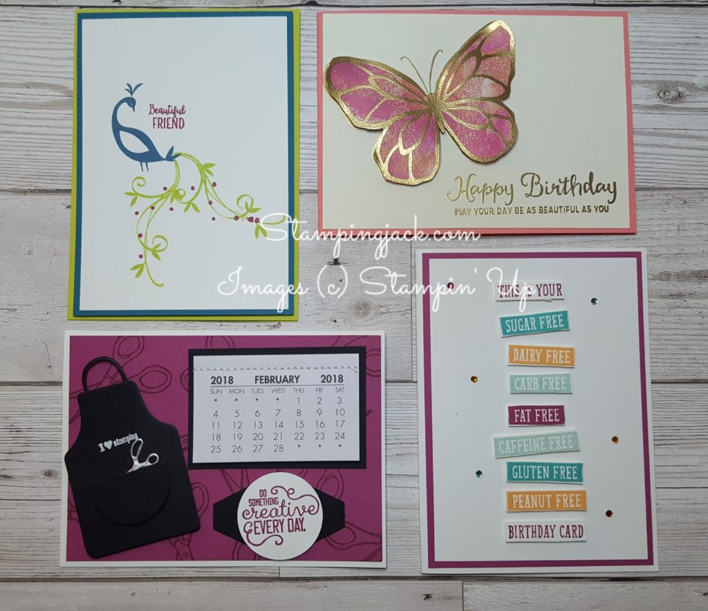 Stampingjack Facebook Live 5th February Online Cardmaking Tutorial