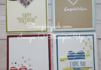 Stampin Up Hearts Happiness Live Video Tutorial